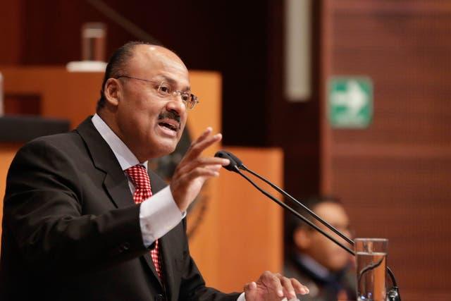 <p>Juárez Cisneros se desempeñaba como líder de la bancada del PRI en la Cámara de Diputados</p>