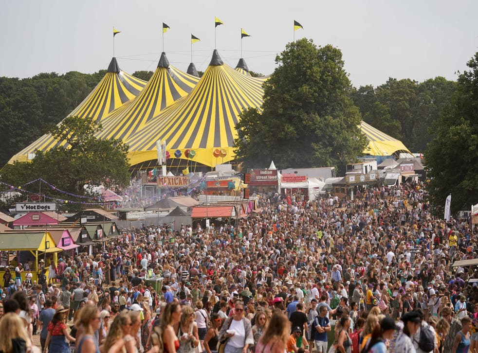 <p>Nice to see you again: Latitude Festival returned to Henham Park, Suffolk, over the weekend</p>