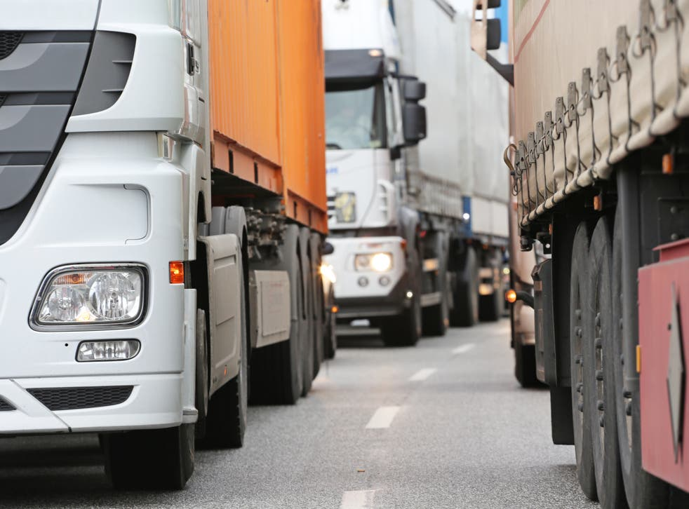 <p>The UK is in the midst of a lorry driver shortage</p>
