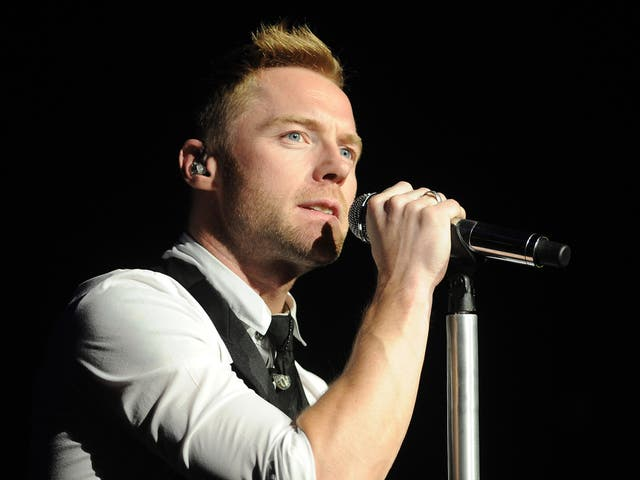 <p>Keating rose to fame with Boyzone before a prominent solo career</p>