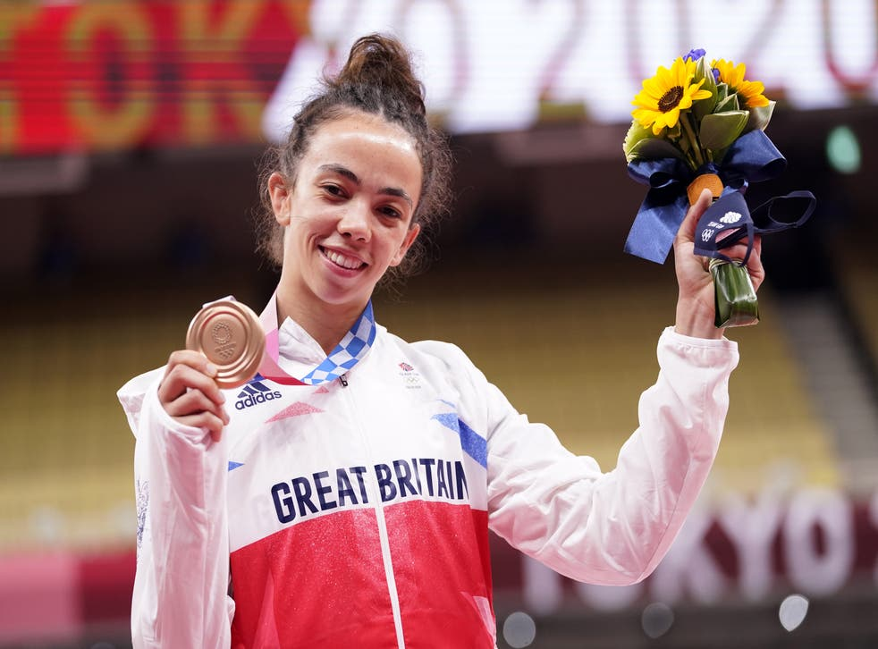 """<p>Chelsie Giles' family were """"thrilled to bits"""" with her bronze medal at Tokyo 2020 (Danny Lawson/PA)</p>"""