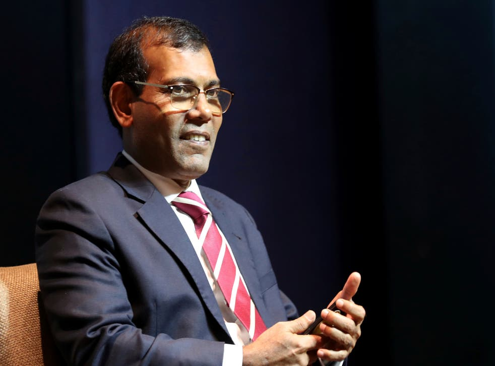 Maldives Ex- President