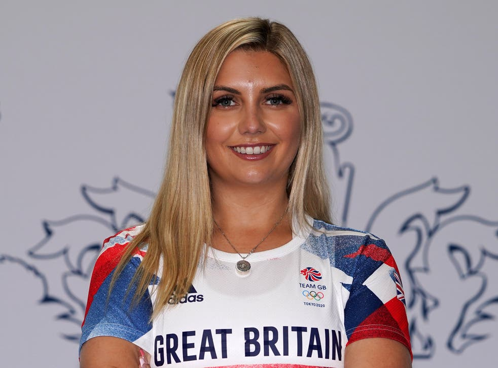 <p>Amber Hill was left 'heartbroken' after a positive Covid-19 test forced her to withdraw from the Olympics (Mike Egerton/PA)</p>