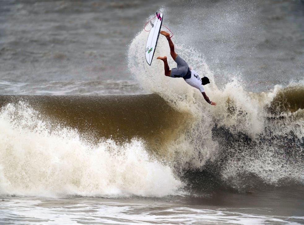 APTOPIX Tokyo Olympics Surfing
