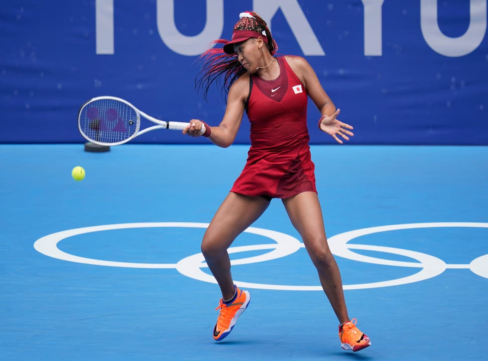 Naomi Osaka suffered an early exit in Tokyo (Patrick Semansky/AP)