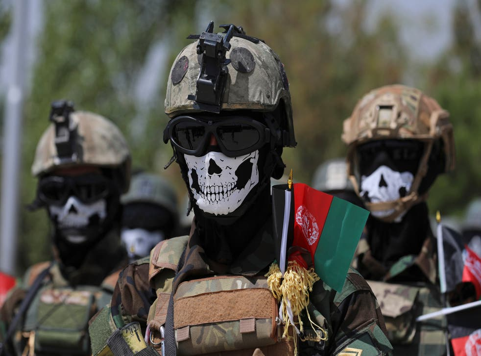 Afghanistan US Military Spending