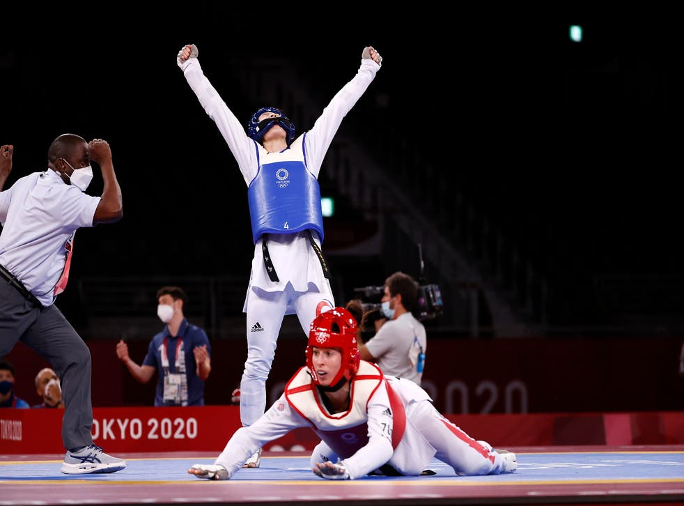 <p>Walkden lost her semi-final with only seconds left in the contest</p>