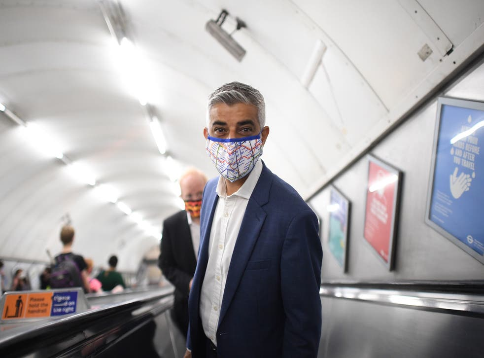 <p>Sadiq Khan is holding a meeting to see how flooding can be prevented</p>