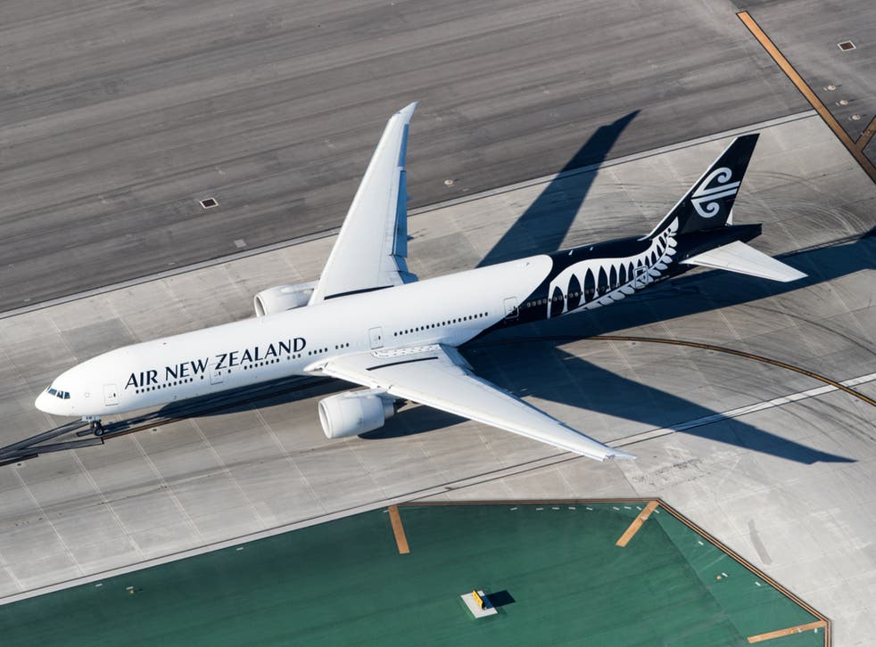 <p>Incident occurred on an Air New Zealand flight</p>