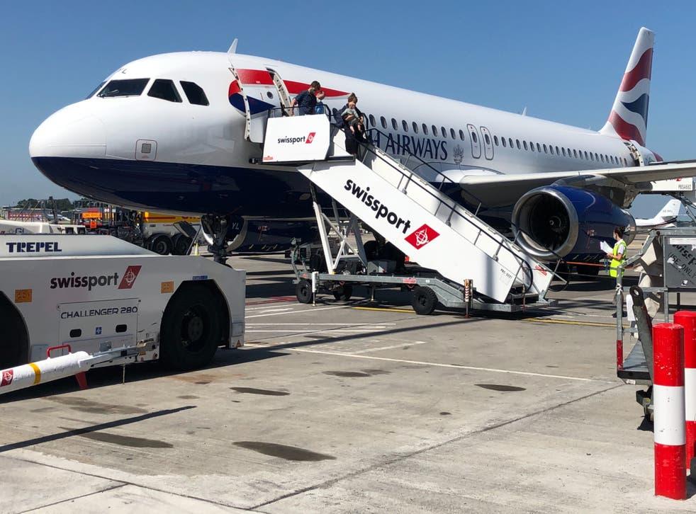 <p>Going places? British Airways Airbus A320</p>