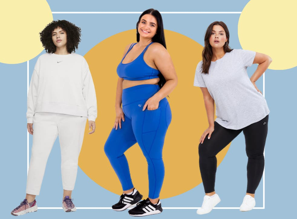 <p>Choose from squat-proof leggings, supportive sports bras, wide-fit trainers and more</p>
