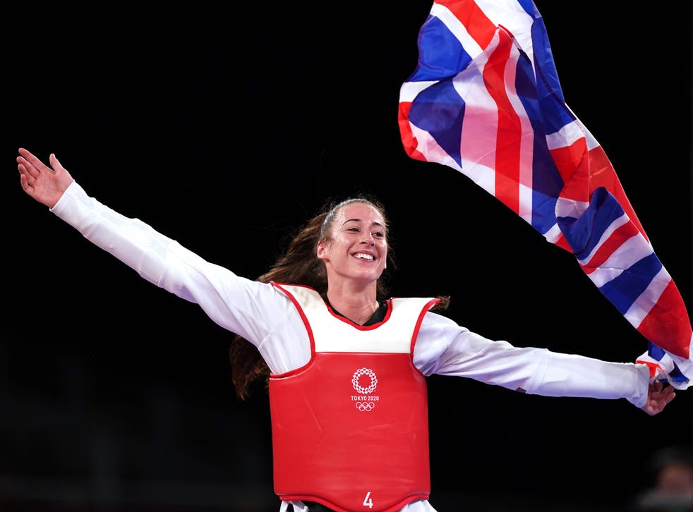<p>Bianca Walkden settled for another Olympic bronze medal in Tokyo (Mike Egerton/PA)</p>