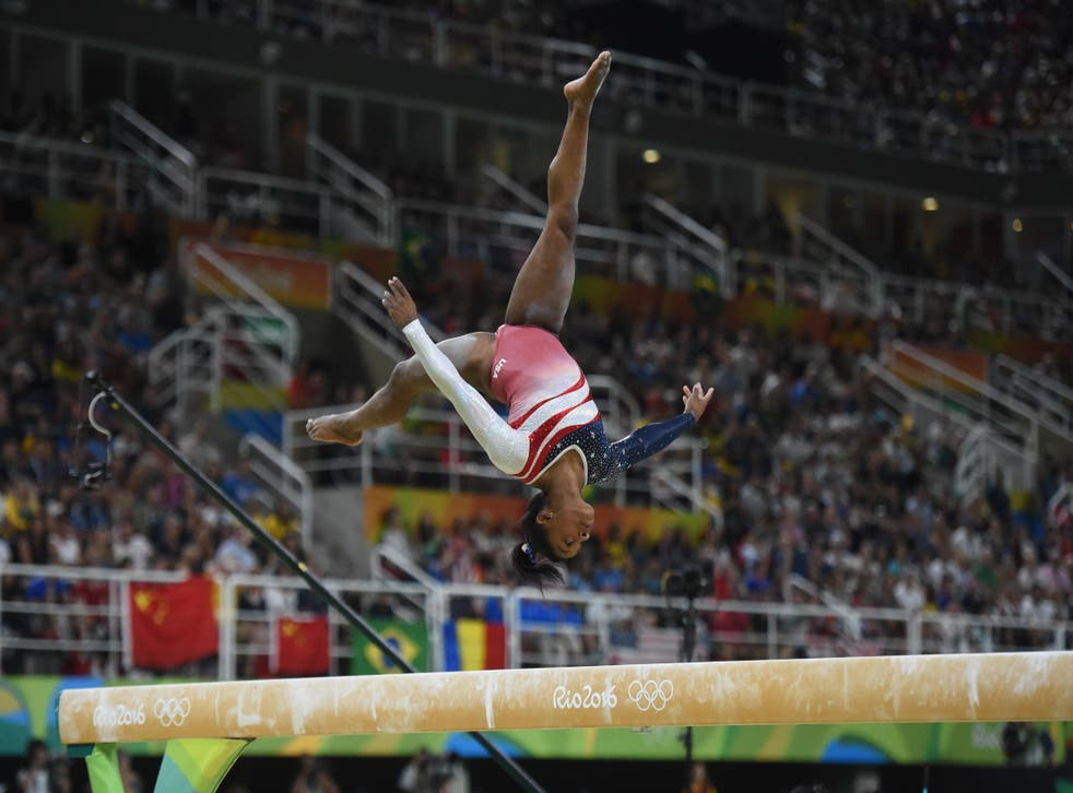 Simone Biles has pulled out of the Olympics gymnastics team final (Alamy/PA)