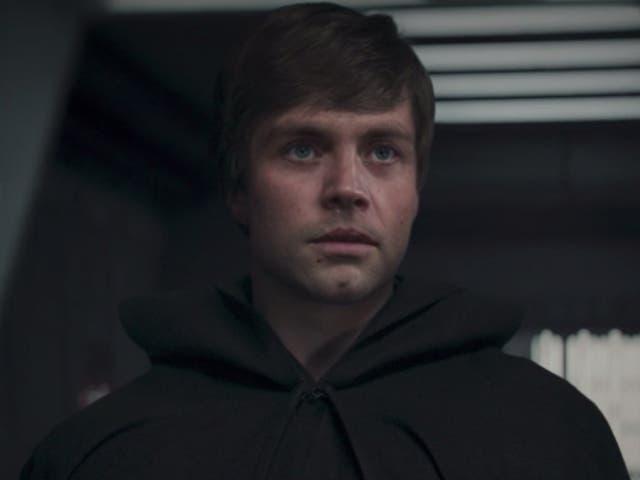 <p>Luke Skywalker in The Mandalorian</p>