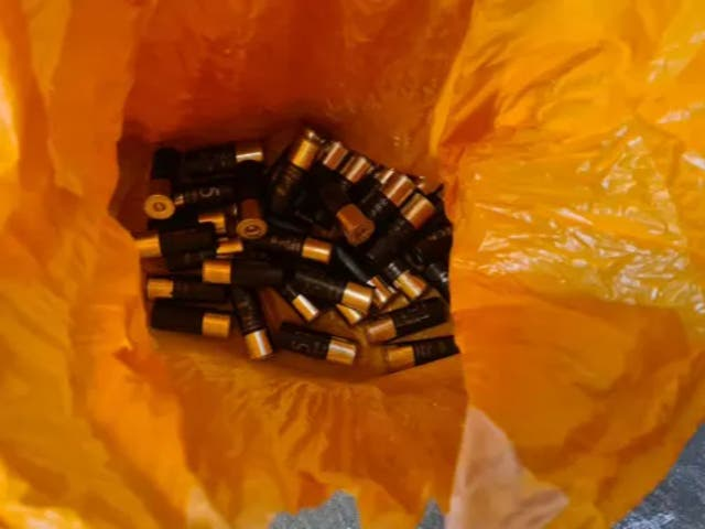 <p>A senior Met Police officer has said that it appears someone was trying to hide the ammunition from the force</p>