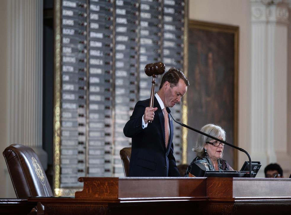 <p>Texas House Speaker Dade Phelan</p>