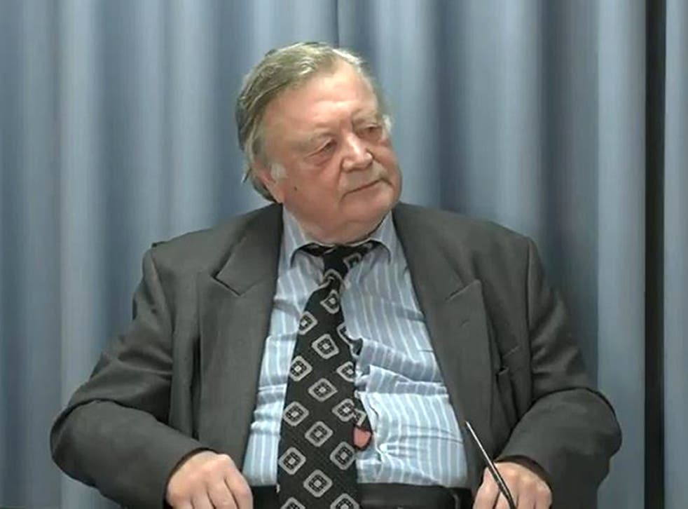 <p>Lord Ken Clarke has been giving evidence at the Infected Blood Inquiry this week</p>