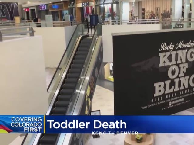 El centro comercial en Aurora, Colorado