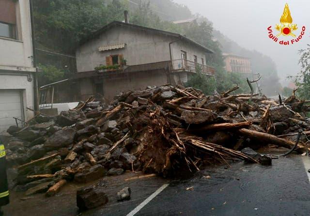 ITALIA-CLIMA EXTREMO