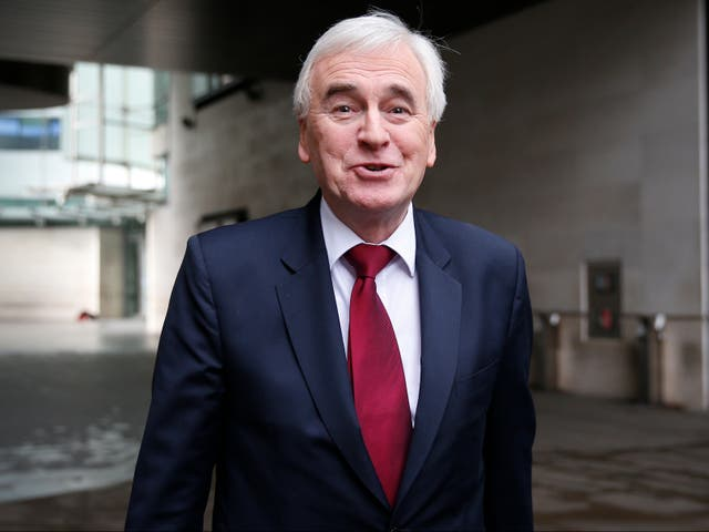 McDonnell backed his Labour colleague entirely, saying she would have been offered a Cabinet position if Labour had won the 2019 election