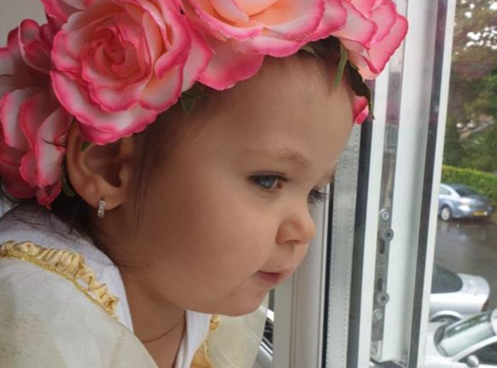 <p>Cristiana Banciu was just two when she died following a rare reaction to the flu</p>