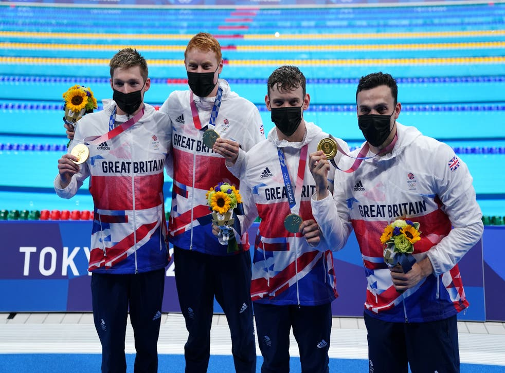 There was more gold medal success for Britain's swimmers in Tokyo
