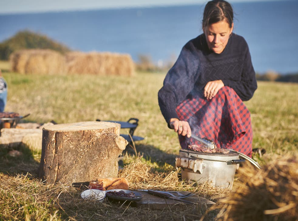 <p>'This is one pot, it's primal cookery, how to make food really easily with fire, or over a little gas stove'</p>
