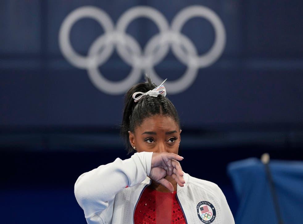 <p>APTOPIX Tokyo Olympics Artistic Gymnastics</p>