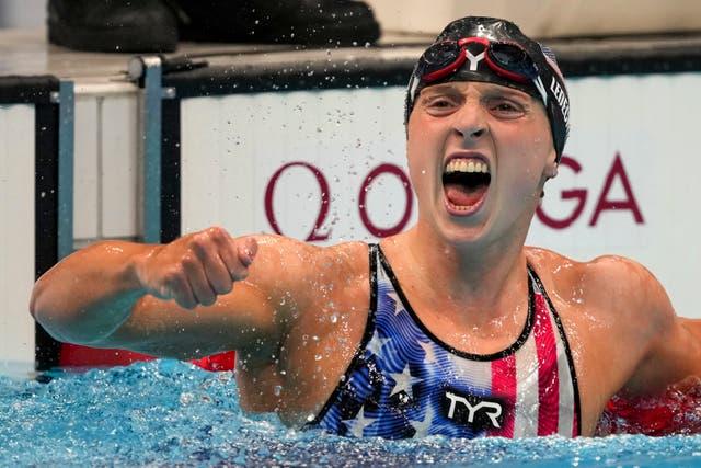 APTOPIX Tokyo Olympics Swimming