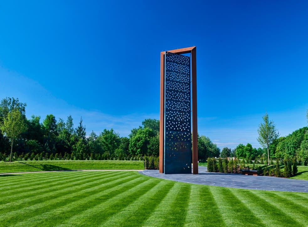 <p>The UK Police Memorial at the National Memorial Arboretum in Staffordshire</p>