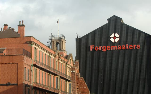 The Ministry of Defence is buying steel company Sheffield Forgemasters for £2.56m (Anna Gowthorpe/PA)
