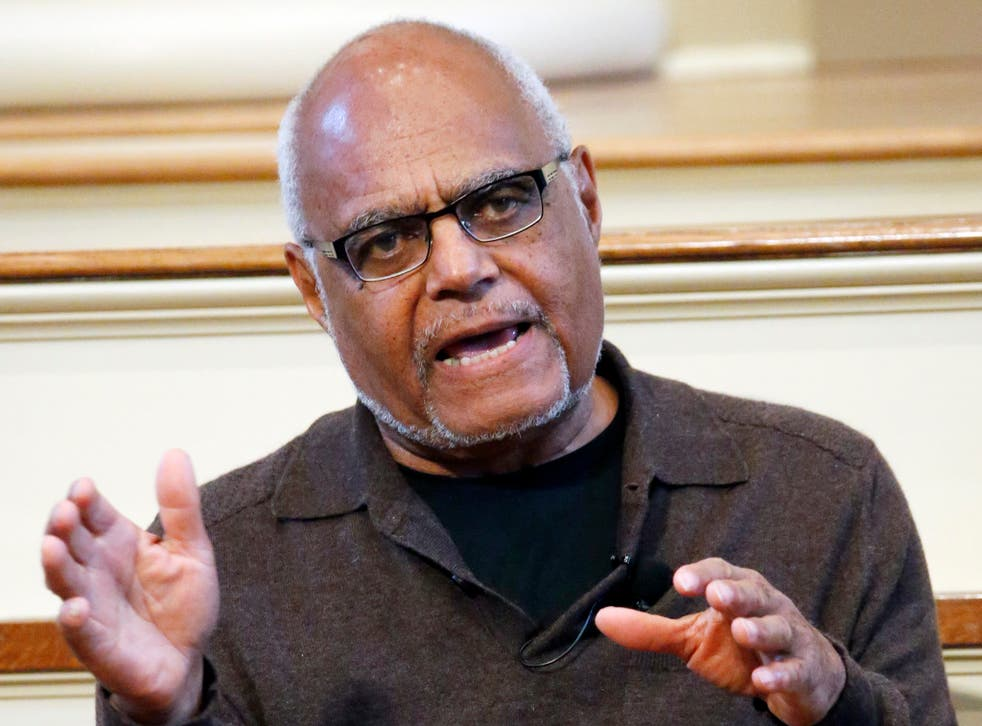 <p>Bob Moses at a national youth summit in the Old Capitol Museum, Jackson, Mississippi in 2014</p>