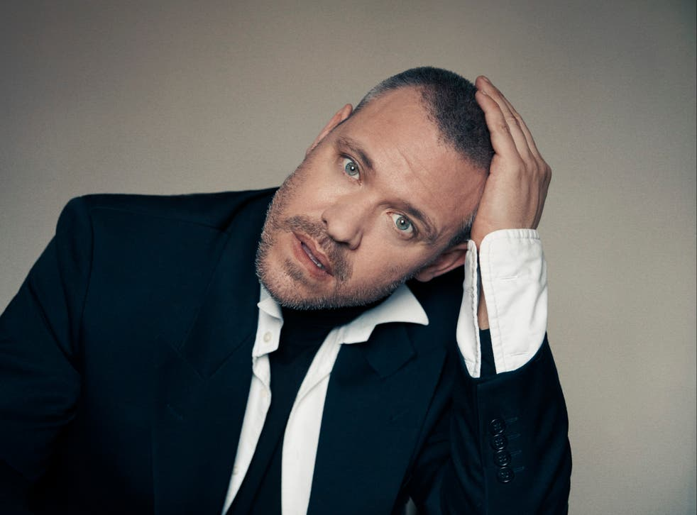 <p>Will Young: 'I'm majorly depressed today, but I'm still turning up and doing it'</p>