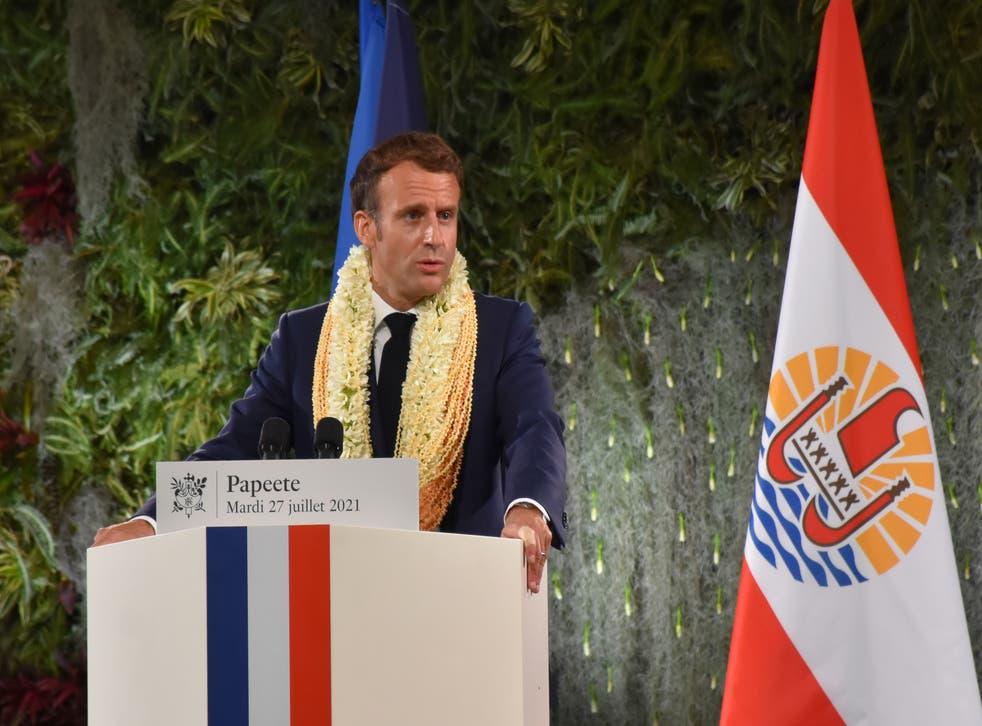 France Polynesia Macron