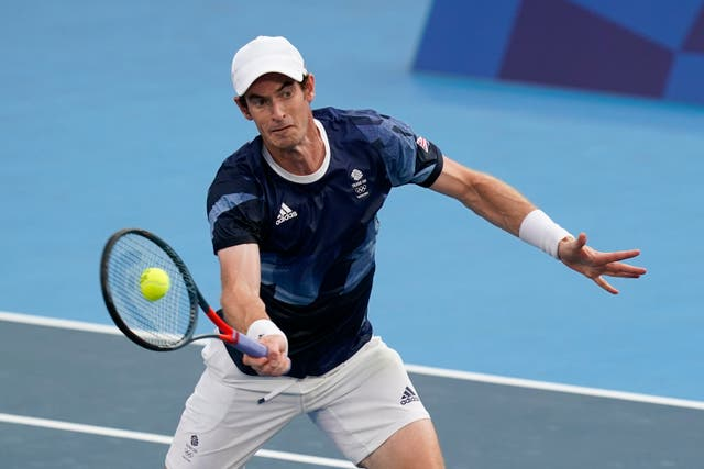 Andy Murray saw his hopes of another Olympic medal end in Tokyo (Patrick Semansky/AP)