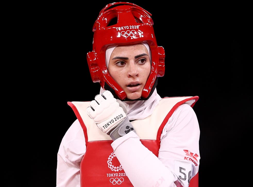 <p>Julyana Al-Sadeq has gone viral for her resemblance to Lady Gaga during the Tokyo Olympics.</p>