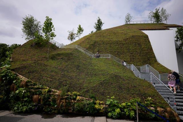 Britain Marble Arch Mound