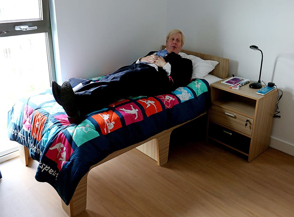 <p>Boris Johnson, pictured here at the Olympic Village in 2012, thrives on chaos. So what happens when things calm down again?</p>