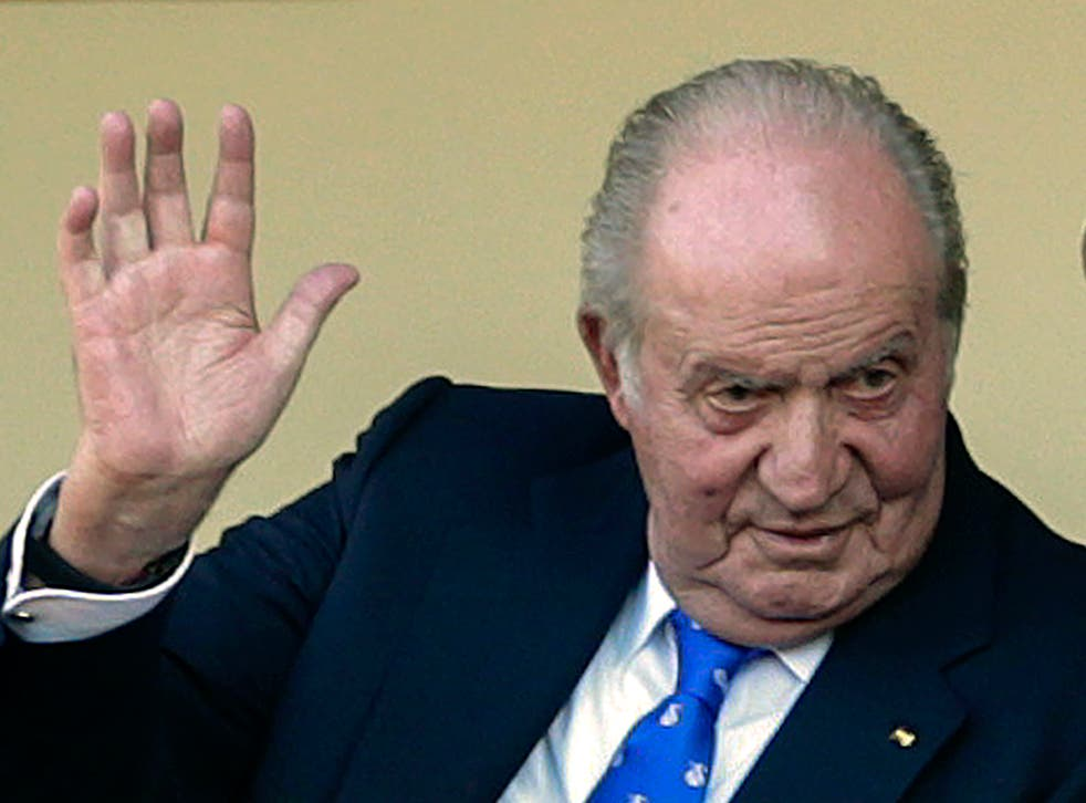 Spain Former King