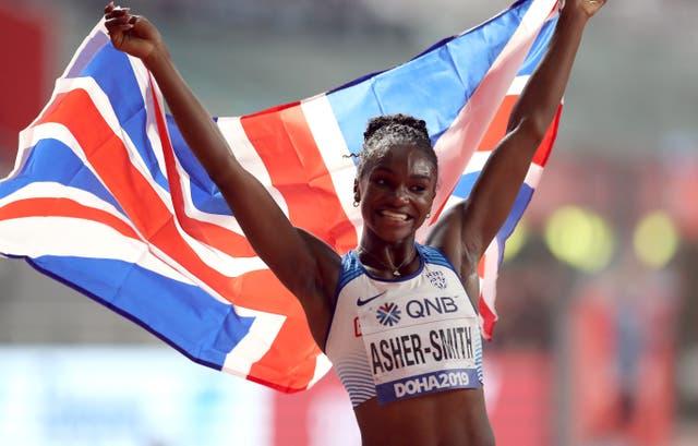 Dina Asher-Smith kicks off her Olympic campaign on Friday (Martin Rickett/PA)