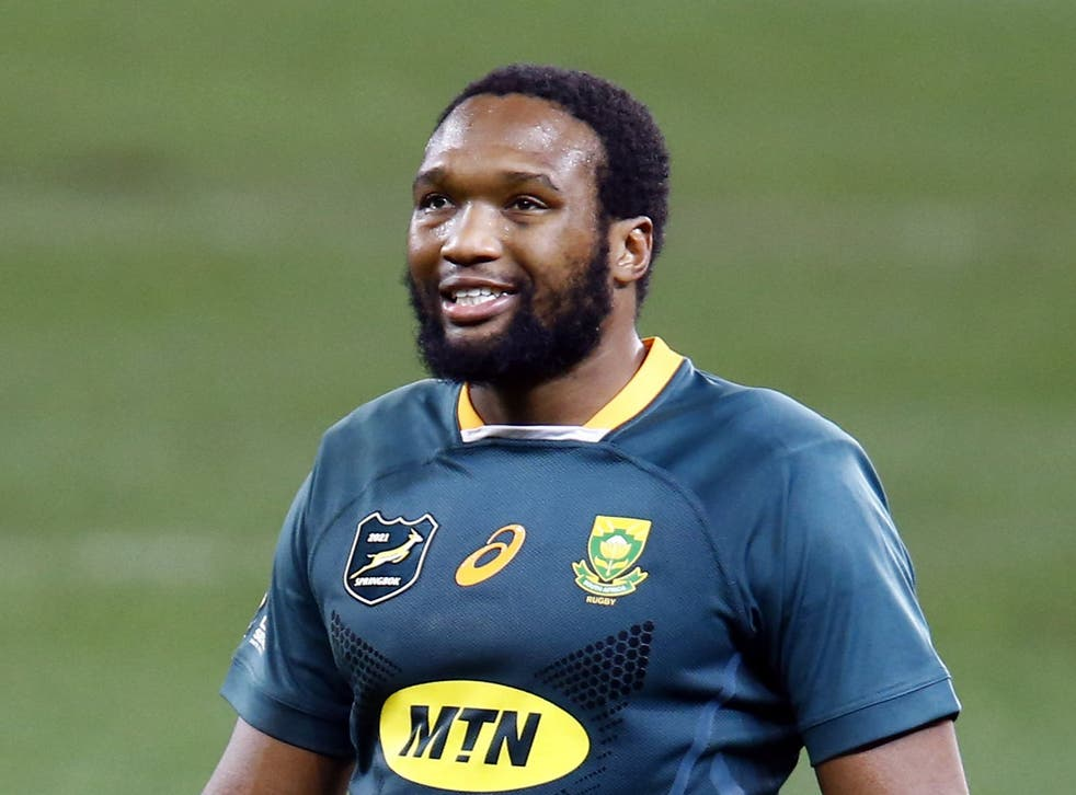 Lukhanyo Am expects South Africa to bring extra physicality to the second Test (Steve Haag/PA)