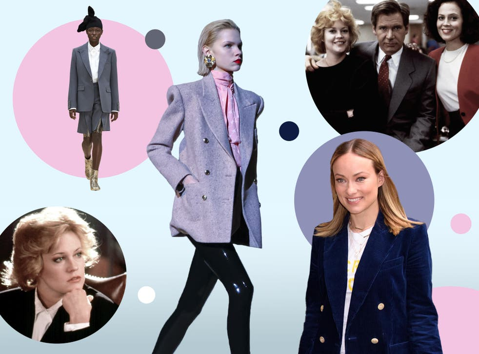 <p>Gone are the days of power dressing</p>