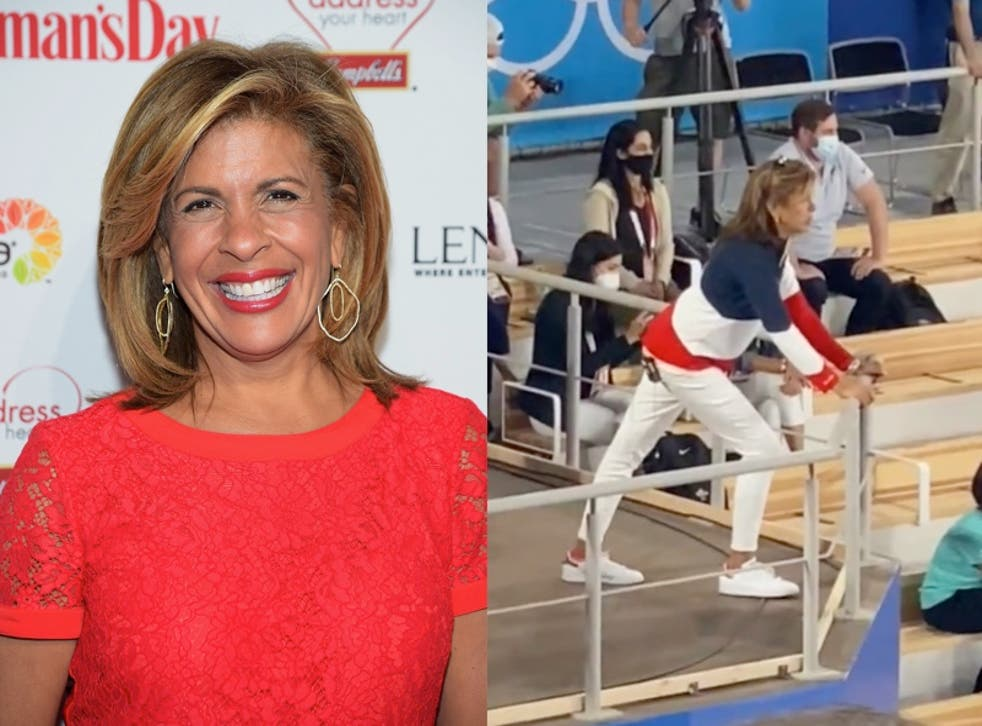 <p>Hoda Kotb praised for display of support during Team USA's gymnastics performance at Olympics</p>