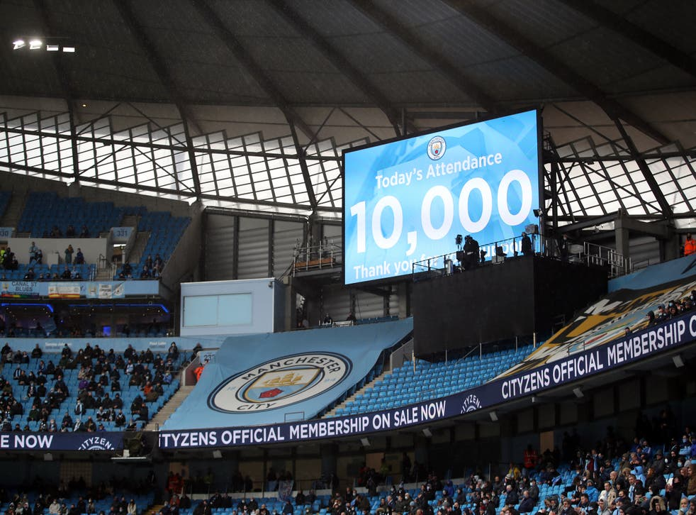 It is hoped clubs can welcome back more fans again in the upcoming 2021/2022 season (Dave Thompson/PA)