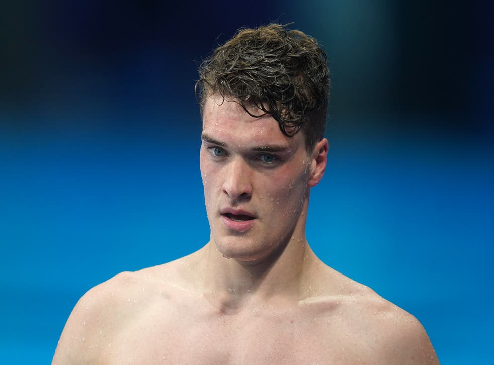 James Wilby finished sixth in the men's 200m breaststroke final (Adam Davy/PA)