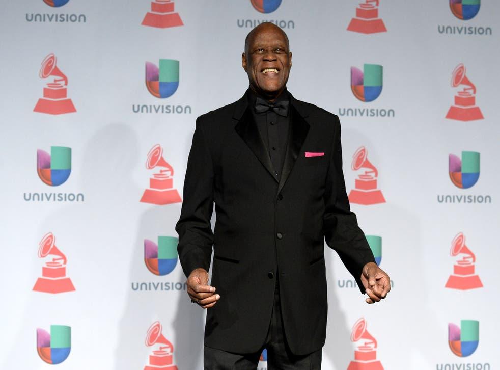 <p>File: Johnny Ventura at the 14th Annual Latin Grammy Awards</p>