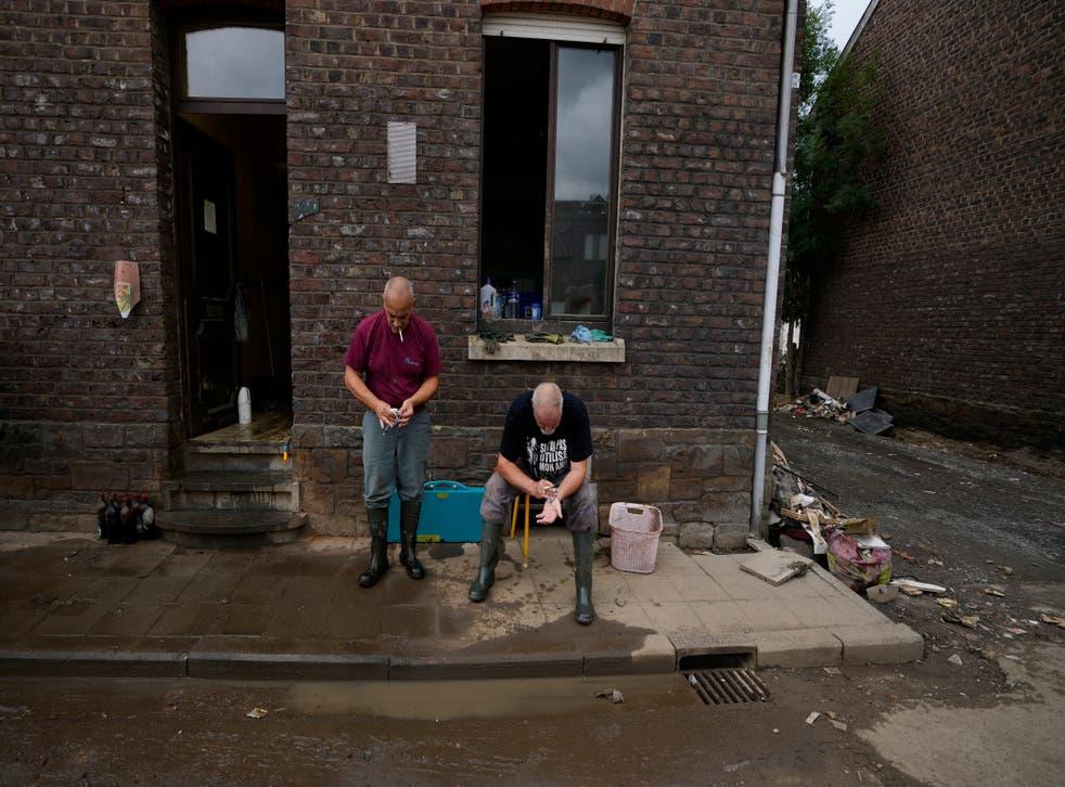Belgium Floods Mental Trauma