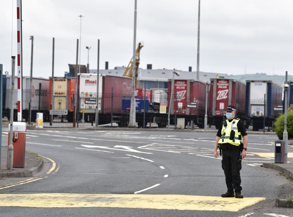 <p>The Northern Ireland Protocol avoids a hard border in Ireland </p>