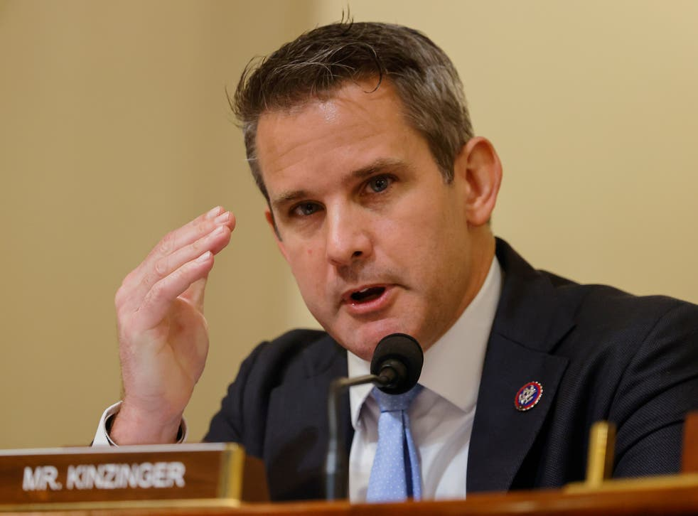 <p>Rep Adam Kinzinger says a 'lot' of Republicans have privately conveyed support for his stance on the 6 January Capitol riot</p>
