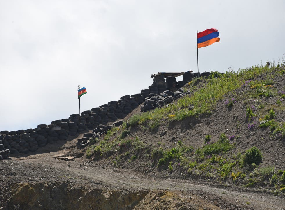 <p>Armenia and Azerbaijan have both accused each other of flouting a ceasefire</p>
